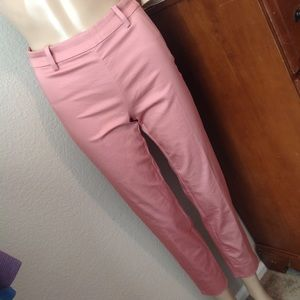 Light pink coral dress pants from H&M